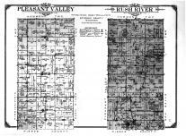 Pleasant Valley Township, Rush River Township, Palmer, New Centreville, St. Croix County 1914