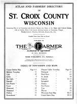 Title Page, St. Croix County 1914