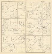 Township 30 - Range 1 West, Holway P.O., Justin P.O., Taylor County 1900c