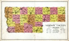 Outline Map, Vernon County 1931