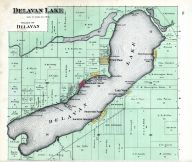 Delavan Lake, Walworth County 1891