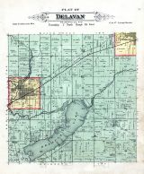 Delavan Township, Walworth County 1891