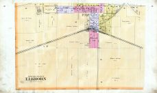 Elkhorn Village - South, Walworth County 1891