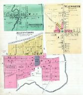 Honey Creek P.O., Allen's Grove, Walworth, Walworth County 1891