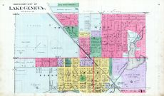 Lake Geneva City - North, Walworth County 1891