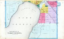 Lake Geneva City - South, Walworth County 1891