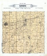 Lyons Township, Walworth County 1891