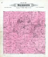 Richmond Township, Walworth County 1891
