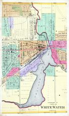 White Water City - Center, Walworth County 1891