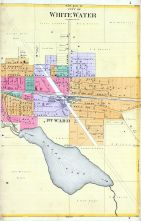 White Water City - East, Walworth County 1891