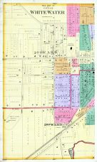 White Water City - West, Walworth County 1891
