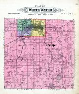 White Water Township, Walworth County 1891