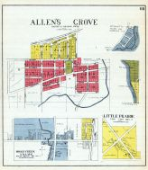 Allen's Grove, Honey Creek Village, Little Prairie, Walworth County 1921