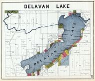 Delavan Lake, Walworth County 1921