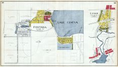 Lake Geneva , Fontana, Lyons, Walworth County 1921