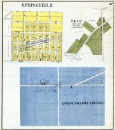 Springfield, Troy, Spring Prarie Corners, Walworth County 1921