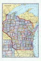 State Map, Walworth County 1921