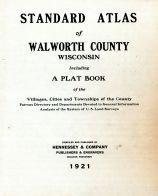 Title Page, Walworth County 1921