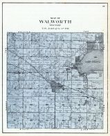 Walworth Township, Walworth County 1921