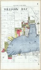 Williams Bay - West, Walworth County 1921