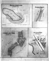 Beechwood, Pebbly Beach, Cedar Lake Park, Allenton, Washington and Ozaukee Counties 1892