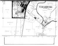 Cedarburg -  Below, Washington and Ozaukee Counties 1892