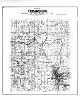 Cedarburg Township, Horns Corners PO, Washington and Ozaukee Counties 1892