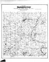 Farmington Township, Boltonville, St Michaels, Fillmore PO, Washington and Ozaukee Counties 1892
