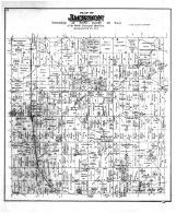 Jackson Township, Salter PO, Frank PO, Kirchhayn PO, Washington and Ozaukee Counties 1892