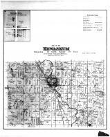 Kewaskum Township, Wayne PO, St Michaels, Washington and Ozaukee Counties 1892