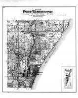 Port Washington Township, Druecker PO, Limekiln Sta, Belgium PO, Washington and Ozaukee Counties 1892