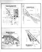 Saint Lawrence, Ackerville, Kohlville, Richfield, Washington and Ozaukee Counties 1892