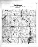 Saukville Township, Newburgh, Washington and Ozaukee Counties 1892