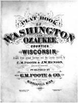 Title Page, Washington and Ozaukee Counties 1892