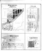 Waubeka, Ulao, Holy Cross, Lake Church, Washington and Ozaukee Counties 1892