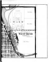 West Bend City - North - Right, Washington and Ozaukee Counties 1892