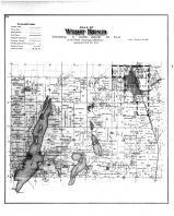 West Bend Township, Cedar Lake Park, Pebbly Beach, Washington and Ozaukee Counties 1892