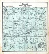 Eagle Township, Mill Pond, Waukesha County 1873