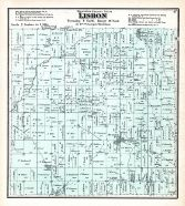 Lisbon Township, Sussex P.O., Waukesha County 1873