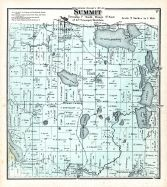 Summit Township, Silver Lake, Oconomowoc Lake, Waukesha County 1873