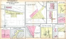 Brookfield, Genesee, Dousman Sta., Monches, Sussex, Hall's Park, McLaughlin's Sub., Stone Bank, Templeton, Waukesha County 1914