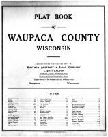 Title Page, Waupaca County 1912