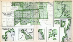 New London - South, Columbian Park, Buckbee, Lake Park and Pine Grove, Readfield, Sheridan, Glenwood Park, Symco, Point Comfort, Central Park and Oak Park, Waupaca County 1923