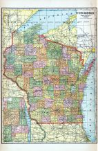 State Map, Waupaca County 1923