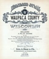 Title Page, Waupaca County 1923