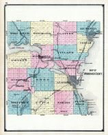 County Map 2, Winnebago County 1889