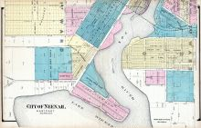 Neenah - East, Winnebago County 1889