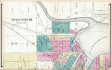 Neenah - West, Winnebago County 1889