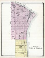 Oshkosh - 3rd Ward, Winnebago County 1889