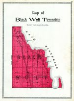 Black Wolf Township, Winnebago County 1909